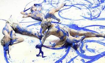 Fine Art Bodypainting Performance